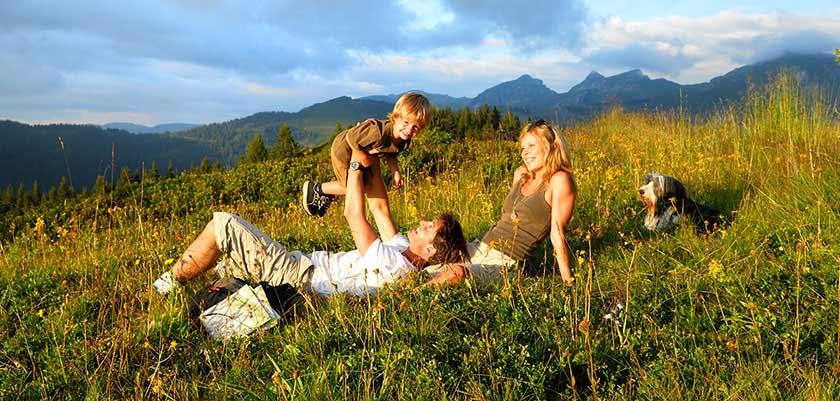 Family enjoying the sunshine in Morzine.jpg
